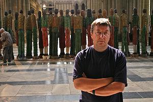 Robert Koenig (sculptor) - Sculptor Robert Koenig with Odyssey Exhibition in York Minster 2008