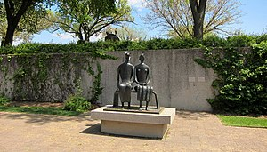 King and Queen (sculpture) - King and Queen in the Hirshhorn Museum's Sculpture Garden in Washington, D.C.