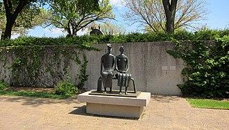 King and Queen (sculpture) - King and Queen in the Hirshhorn Museum's Sculpture Garden in Washington, D.C.