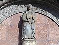 Sculpture of Justitia on Palazzo del Capitano del Popolo (Perugia).jpg