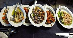 Sea food Cagliari