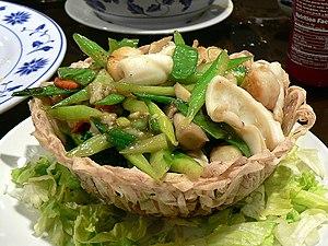 Seafood birdsnest - Image: Seafoodbirdsnest