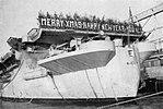 Season's greetings aboard USS Sicily (CVE-118) at Naval Station Norfolk, in December 1948.jpg