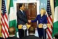 Secretary Clinton Shakes Hands With Nigerian Foreign Minister Ajumogobia.jpg
