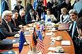 Secretary Kerry and Team Meet With German Foreign Minister Steinmeier (12235333096).jpg