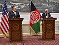 Secretary Pompeo Participates in Joint Press Conference With Afghanistan President (43259192392).jpg