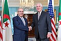 Secretary Tillerson Poses for a Photo With Algerian Foreign Minister Lamamra Before Their Meeting in Washington (34554449122).jpg
