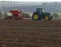 Seed Drilling near Melton Ross - geograph.org.uk - 2106593.jpg