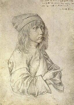 Autoportret-Albrechta-Dürera-w-wieku-trzynastu-lat