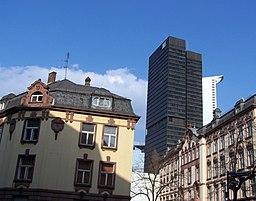 Hohenstaufenstraße in Frankfurt am Main