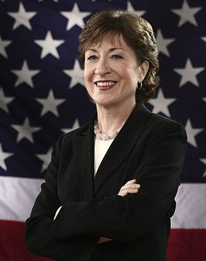 Susan Collins (R-ME), member of the United Sta...