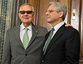 Senator Harry Reid met with Supreme Court nominee Merrick Garland (25566544860) (cropped).jpg