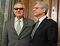 Senator Harry Reid met with Supreme Court nominee Merrick Garland (25566544860) (cropped).jpg