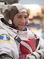 Serena Auñón-Chancellor during spacewalk training at Neutral Buoyancy Lab.jpg