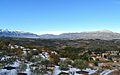 Serra de Mariola i serra del Benicadell vistes des de Benialfaquí.JPG