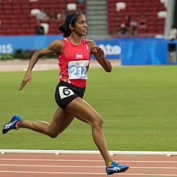 Shanti pereira 2015 sea games 200m heats (cropped).jpg