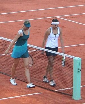 Yaroslava Shvedova - Shvedova after her match against Maria Sharapova at the 2009 French Open