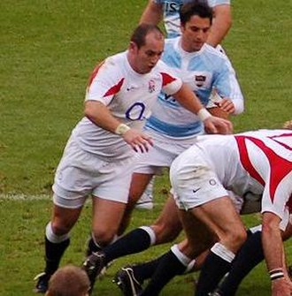 Shaun Perry - Perry at the base of the scrum