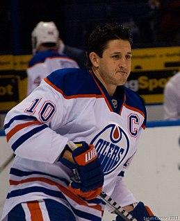 Shawn Horcoff Canadian ice hockey player