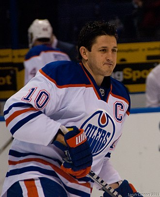 Shawn Horcoff - Horcoff with the Edmonton Oilers