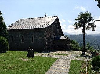 Shemokmedi Monastery - The Church of the Redeemer at Shemokmedi