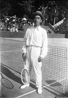 Zenzo Shimizu Japanese tennis player