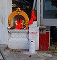 Shrine to Ganesh in Ealing.JPG