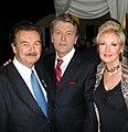 Shymkos with Viktor Yushchenko.jpg