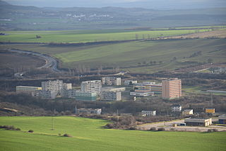 housing estate on the outskirts of Most, north-west Bohemia