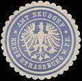 Siegelmarke Amt Neudorf Kreis Strassburg W0345436.jpg