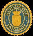 Siegelmarke Bezirksarmenrath Zistersdorf W0320919.jpg