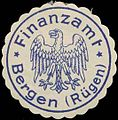 Siegelmarke Finanzamt Bergen-Rügen W0323076.jpg