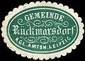 Siegelmarke Gemeinde Rückmarsdorf Kgl. Amtsh. Leipzig W0301546.jpg