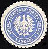 Siegelmarke Königliche Eisenbahn - Direction Berlin - Kanzlei W0229454.jpg