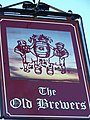 Sign for the Old Brewers - geograph.org.uk - 1105710.jpg