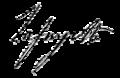 Signatur Marie-Joseph Motier, Marquis de La Fayette.PNG