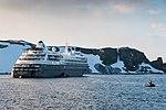 Silversea Silver Cloud Half Moon Bay Antarctica (33460785008).jpg