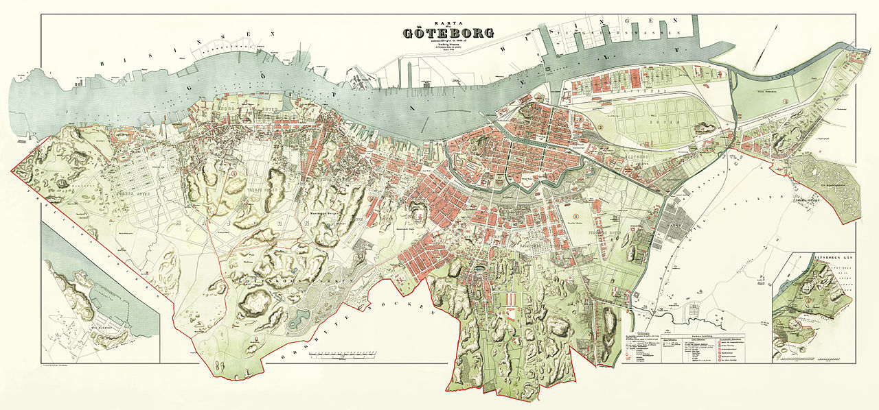 File Simon S 1888 Gothenburg Map Jpg Wikipedia