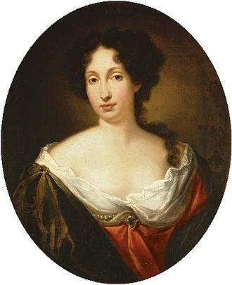Louise de Kérouaille, Duchess of Portsmouth - A 1683 painting of Louise de Kérouaille by Simon Du Bois