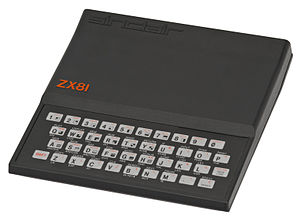 Rick Dickinson - The ZX81 personal computer. Dickinson holds a patent for its design