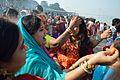 Sindoor Play - Chhath Puja Ceremony - Baja Kadamtala Ghat - Kolkata 2013-11-09 4300.JPG