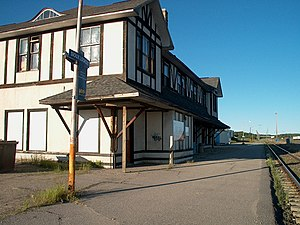 Sioux Lookouts old railway station.JPG