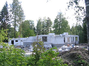 House-building - House-building in Kuopio, Finland