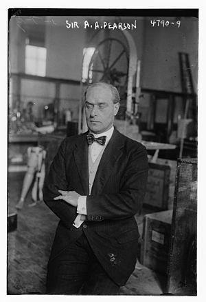 Sir Arthur Pearson, 1st Baronet - Sir Arthur Pearson, 1st Baronet in 1918