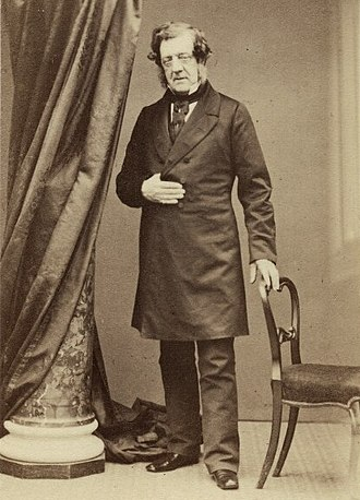 William Tite - Tite photographed in Sussex in the 1860s