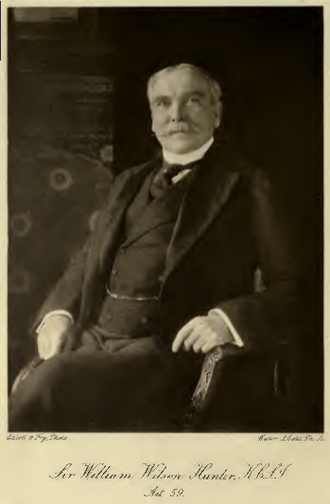William Wilson Hunter - Image: Sir William Wilson Hunter (1840 1900)