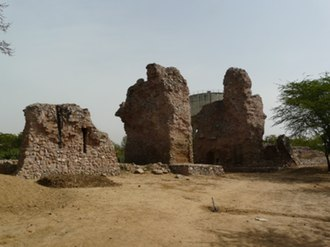 Siri Fort - Image: Siri Fort wall at Panchsheel Park