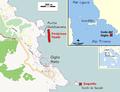 Sito del naufragio della nave da crociera Costa Concordia (13-01-2012).PNG