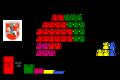 Sitzverteilung Stadtverordnetenversammlung Marburg (Lahn) 2006.png