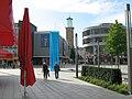 Skulptur für Wasser und Licht auf dem Sparkassenkarree Hagen - panoramio.jpg